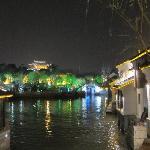 tongli street at night