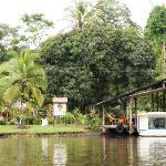 Samoa Lodge, débarcadère