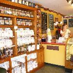 Interior of the Lewes Bake Shoppe