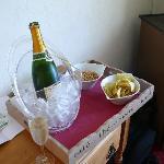 Champagne en chambre