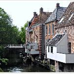 Hanging kitchens from Appingedam, in the province of Groningen (Netherlands).