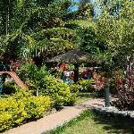 Gardens at Samosir Cottages