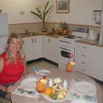 kitchen in standard 1 bedroom apartment