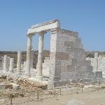 The temple of good Dimitra