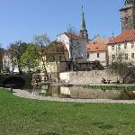 Park mit Mühlgraben