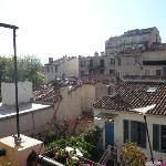 Blick von der Terrasse BB Romain