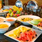 Try our deluxe continental breakfast