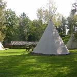 Village de tipis pleine nature pour groupe - Clos Malpré