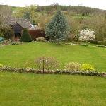 Garden view from Garden Suite
