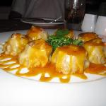 lobster potstickers at Insu