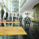Lobby looking towards reception desks