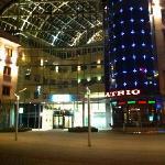 atrium across the street from Vestin