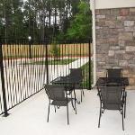 patio bbq deck