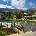 Hot Tubs at Fitness Center, at Water House on Main Street Breckenridge. Common ammenites with Ma