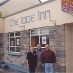 In front of the Igoe Inn