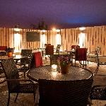 Our outdoor terrace area, perfect for Al Fresco dining or private parties