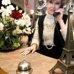 Martine Directrice de l'hôtel