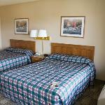 The beds in a 2 Queen room