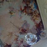 Plafond peint du Palazzo de l'hôtel