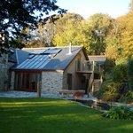 Guest annex and gardens