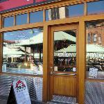 Entrance of The Halligan Bar!