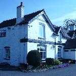 The Portway Inn on a spring day