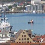 Stadthafen gesehen vom Turm der St..Nikolai