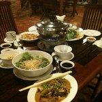 Lau hai san (seafood hotpot)
