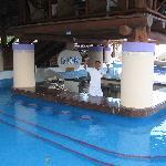 Swim-up bar!