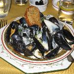 Mussels, very good starter