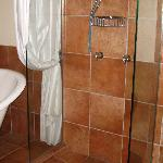 Part of the bathroom