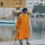 Un des nombreux gardiens du Golden Temple