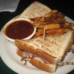 Pulled Pork Sandwich on Toast