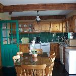 Kitchen in Atlantic View Cottage