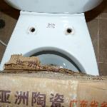 our toilet