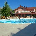 La piscina dell'hotel.