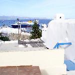 Blick auf den Hafen vom Kastro aus