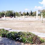 Antike Ausgrabung nahe Naxos City