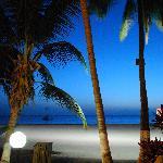 la nuit sur la plage