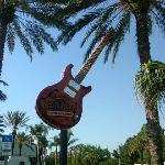 The Guitar with the Palm Trees