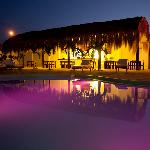 Eat nuevo peruvian food in our pool side restaurant.
