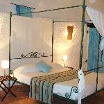 chambre à lit baldaquin Poquelin