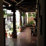 Hallway and Patio