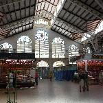 L'interno del Mercato