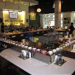 Blue C Sushi Interior