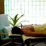 Enjoy a massage at Jiwa Damai