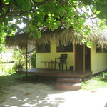 My bungalow at Pension Maupiti Village