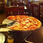 Fantastic pizza!