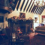 The sitting room at Fitzgerald's Irish Bed & Breakfast