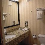 Bathrooms were clean